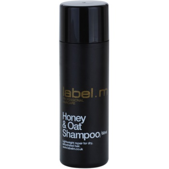 label.m Cleanse shampoo per capelli secchi (Honey & Oat Shampoo) 60 ml