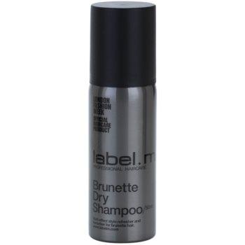 label.m Cleanse shampoo secco per capelli castani (Brunette Dry Shampoo) 50 ml