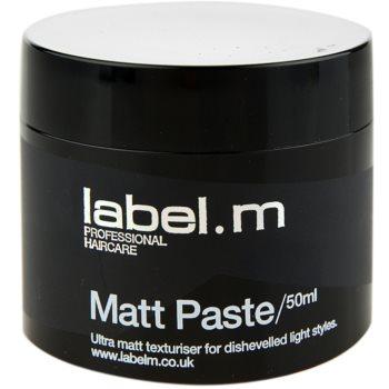 label.m Complete pasta opacizzante per definizione e forma (Matt Paste) 50 ml