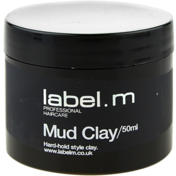 label.m Complete cera modellante fissaggio medio (Mud Clay) 50 ml