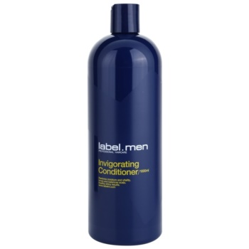 label.m Men balsamo energizzante (Restores Moisture and Vitality, Tones and Balances Scalp, Healthy Shiny Results.) 1000 ml