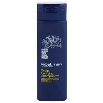 label.m Men shampoo detergente per capelli e cuoio capelluto (Strengthens and Builds Thickness, Leaving Scalp Toned and Refreshed, Clean Healthy Results.) 250 ml
