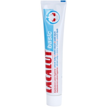 Lacalut Basic dentifricio per denti e gengive sani (Healthy Teeth, Vital Gums, Fresh Breath) 75 ml