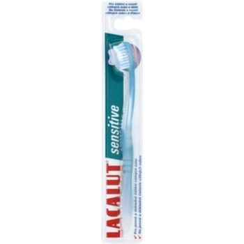 Lacalut Sensitive spazzolino da denti soft Blue
