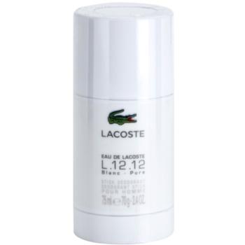 Lacoste Eau de Lacoste L.12.12. Blanc deodorante stick per uomo 75 ml