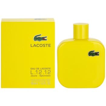 Lacoste Eau de Lacoste L.12.12. Jaune (Yellow) eau de toilette per uomo 100 ml
