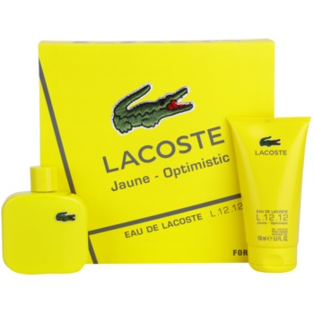 Lacoste Eau de Lacoste L.12.12. Jaune (Yellow) kit regalo I eau de toilette 100 ml + gel doccia 150 ml