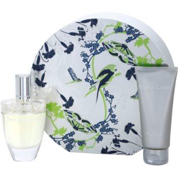 Lalique Fleur de Cristal kit regalo II. eau de parfum 100 ml + gel doccia 150 ml