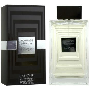 Lalique Hommage a L'Homme eau de toilette per uomo 100 ml