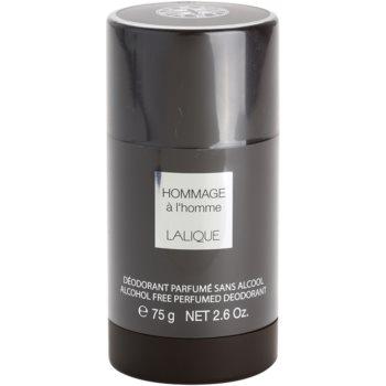 Lalique Hommage a L'Homme deodorante stick per uomo 75 ml