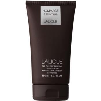 Lalique Hommage a L'Homme gel doccia per uomo 150 ml