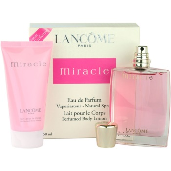 Lancome Miracle kit regalo VI eau de parfum 50 ml + latte corpo 50 ml