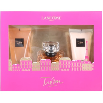 Lancome Trésor kit regalo XI eau de parfum 30 ml + latte corpo 50 ml + gel doccia 50 ml