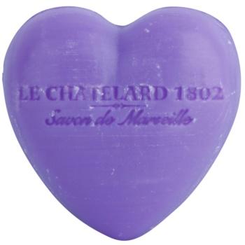 Le Chatelard 1802 Lavender sapone a forma di cuore (Lavande) 25 g
