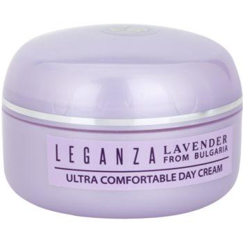 Leganza Lavender crema giorno nutriente e idratante (Special Selected Bulgarian Organic Lavender Oil) 45 ml