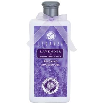 Leganza Lavender gel doccia rilassante (Special Selected Bulgarian Organic Lavender Oil) 200 ml