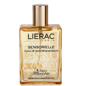 Lierac Les Sensorielles olio rigenerante per viso, corpo e capelli 3 Fleurs Blanche (Nutrition & Hydration Body Oil) 100 ml