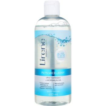 Lirene Algae Pure acqua micellare idratante per viso e contorno occhi 400 ml