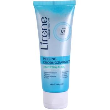 Lirene Algae Pure scrub detergente delicato effetto lisciante 75 ml