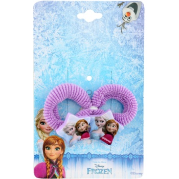 Lora Beauty Disney Frozen elastici per capelli (Purple) 2 pz
