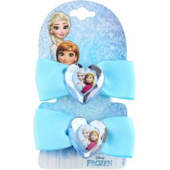 Lora Beauty Disney Frozen elastici per capelli a forma di fiocco (Blue) 2 pz