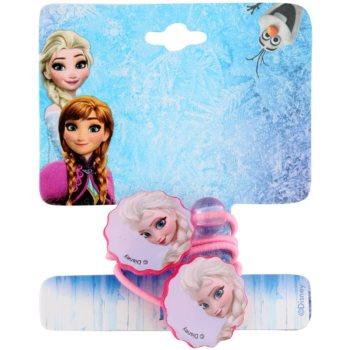 Lora Beauty Disney Frozen elastici per capelli sottili forma di fiore (Pink) 2 pz