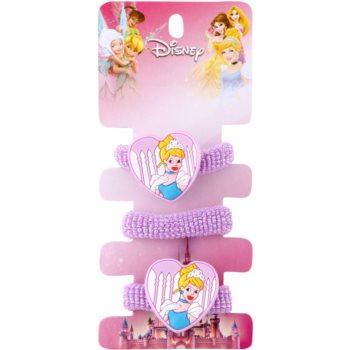 Lora Beauty Disney Cinderella elastici per capelli (Purple) 3 pz