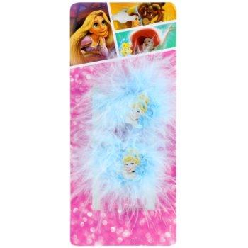 Lora Beauty Disney Cinderella elastici per capelli (Blue) 2 pz