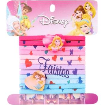 Lora Beauty Disney Princess elastici per capelli a forma di cuore 12 pz