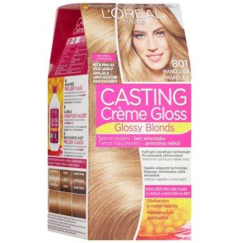 L'Oréal Paris Casting Creme Gloss tinta per capelli colore 801 Almond