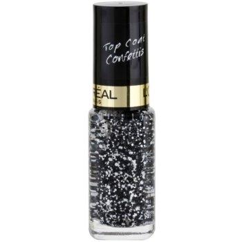 L'Oréal Paris Color Riche Top Coat top coat unghie colore 916 Confettis 5 ml