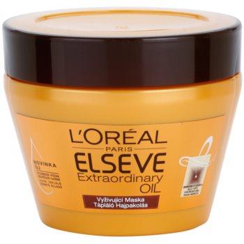 L'Oréal Paris Elseve Extraordinary Oil maschera per capelli secchi 300 ml