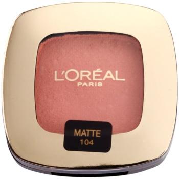 L'Oréal Paris Color Riche L'Ombre Pure ombretti colore 104 La Vie En Rose Matte