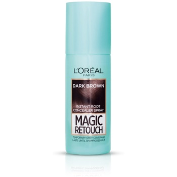 L'Oréal Paris Magic Retouch spray correttore istantaneo per la ricrescita colore Dark Brown 75 ml