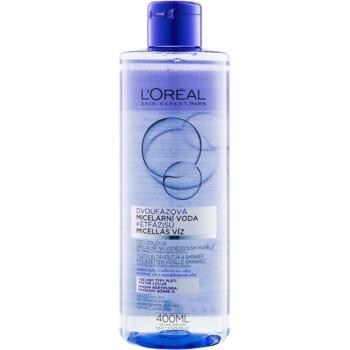 L'Oréal Paris Micellar Water acqua micellare bifasica per tutti i tipi di pelle, anche quelle sensibili 400 ml