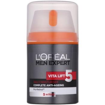L'Oréal Paris Men Expert Vita Lift 5 crema idratante anti-age (Daily Moisturizer Complete Anti-Ageing) 50 ml