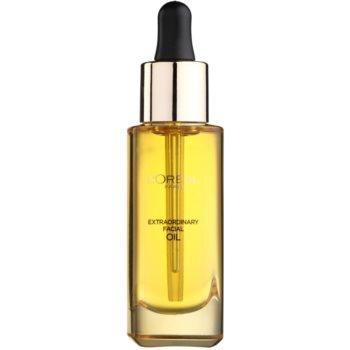L'Oréal Paris Extraordinary Oil olio viso per un nutrimento e un'elasticità intensi (Norrmal skin, Nourish, Brighten, Soften) 30 ml