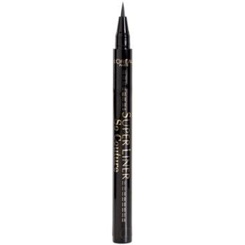 L'Oréal Paris Super Liner So Couture eyeliner Black (Waterproof Eyeliner) 0,28 g