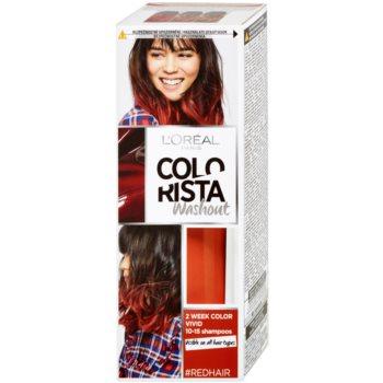 L'Oréal Paris Colorista Washout  colore Red (2 Week Color Vivid 10-15 Shampoos) 80 ml