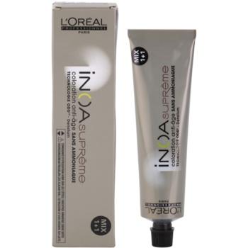 L'Oréal Professionnel Inoa Supreme tinta per capelli senza ammoniaca colore 7,32 (Coloration Anti-Age) 60 g