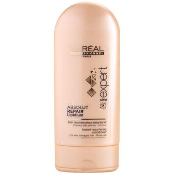L'Oréal Professionnel Série Expert Absolut Repair Lipidium balsamo rigenerante per capelli molto danneggiati (Instant Resurfacing Conditioner) 150 ml