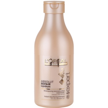 L'Oréal Professionnel Série Expert Absolut Repair Lipidium shampoo nutriente per capelli molto danneggiati (Instant Resurfacing Shampoo for Very Damaged Hair) 250 ml