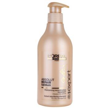 L'Oréal Professionnel Série Expert Absolut Repair Lipidium shampoo nutriente per capelli molto danneggiati (Instant Resurfacing Shampoo for Very Damaged Hair) 500 ml