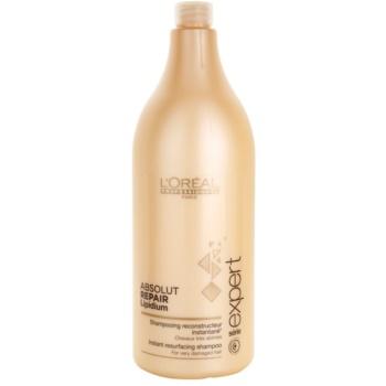 L'Oréal Professionnel Série Expert Absolut Repair Lipidium shampoo nutriente per capelli molto danneggiati (Instant Resurfacing Shampoo for Very Damaged Hair) 1500 ml