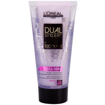 L'Oréal Professionnel Tecni Art Dual Stylers crema-gel per lisciare i capelli (Cream + Intra-Cylane Gel Duo 72hr Volume Control with Natural Movement- Smooth 1) 150 ml