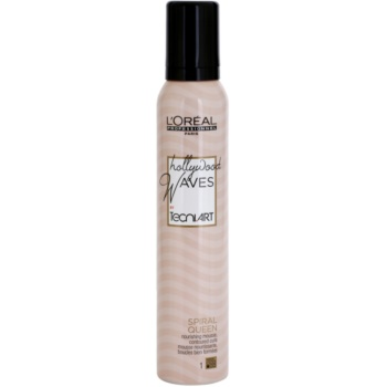 L'Oréal Professionnel Tecni Art Hollywood Waves fissante in mousse per l'elasticità dei capelli mossi Force 1 (Spiral Queen) 200 ml