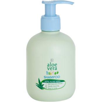 LR Aloe Vera Baby shampoo delicato per bambini per capelli pettinabili (30% Aloe Vera and Bio Calendula Extract) 250 ml