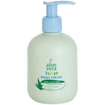 LR Aloe Vera Baby crema detergente per la pelle del bambino (30% Aloe Vera and Bio Calendula Extract) 250 ml