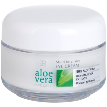 LR Aloe Vera Face Care crema occhi contro i gonfiori (50% Aloe Vera and Bio Magnolia Extract) 15 ml