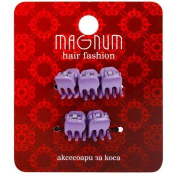 Magnum Hair Fashion fermagli per capelli Lila 5 pz